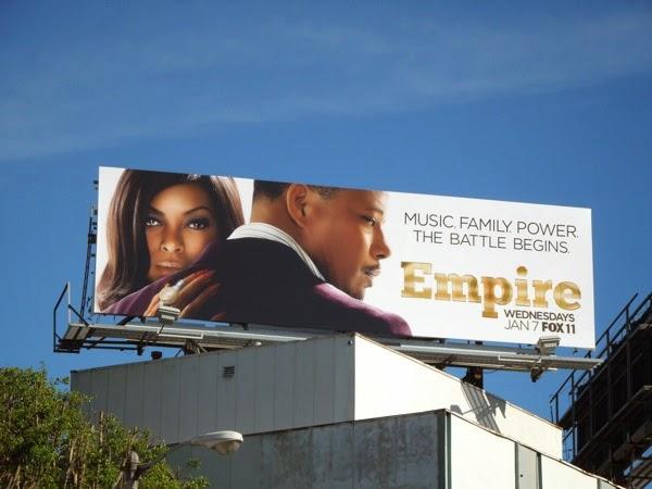 Empire series premiere billboard