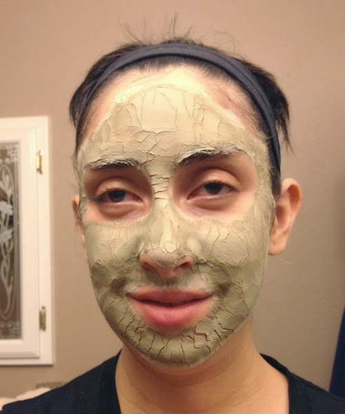 Clay Mask Scars Clay Mask Depositing New Life