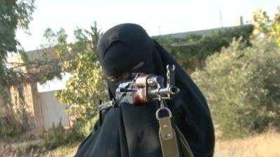 Muslimah British turut berjihad di Syria