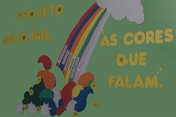Educação - Projeto Arco-íris: as cores que falam