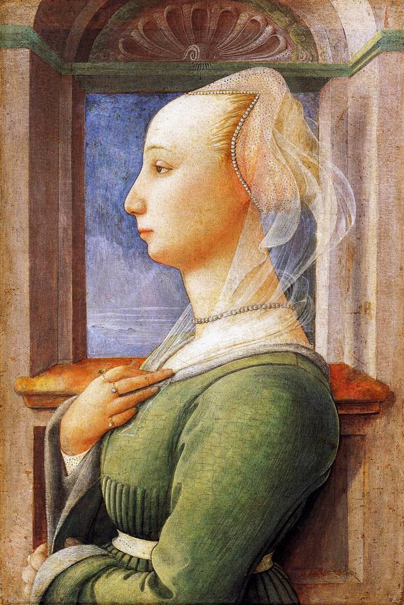 Women In Profile Italian Renaissance