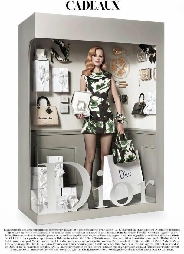 Vogue Paris Dicembre 2014   dior
