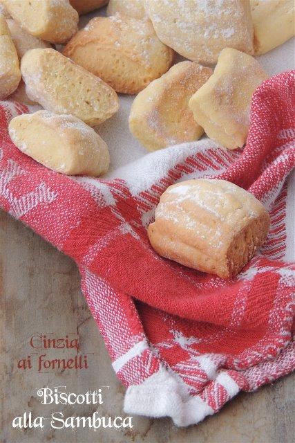 biscotti alla sambuca col bimby