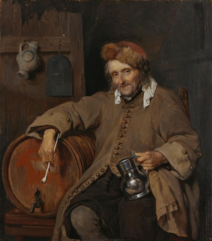 Gabriel Metsu - Le Vieux Buveur