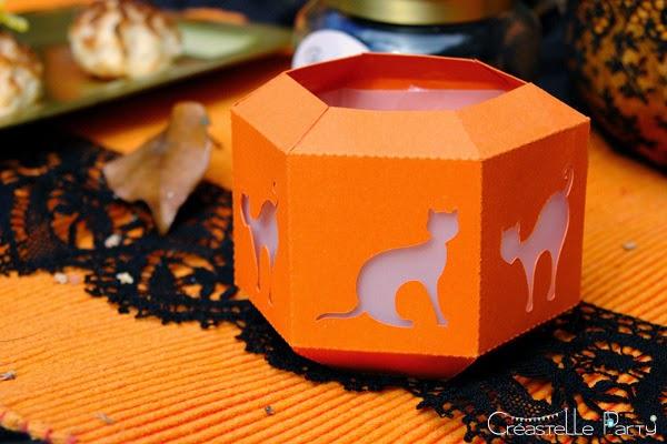 lanternes Halloween sweet table - witch / sorcière