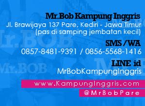 Alamat Mr.Bob Kampung Inggris Pare Kediri