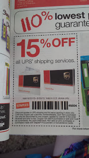 Staples UPS Coupon