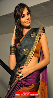 Supriya Shailaja in Low Hip Saree