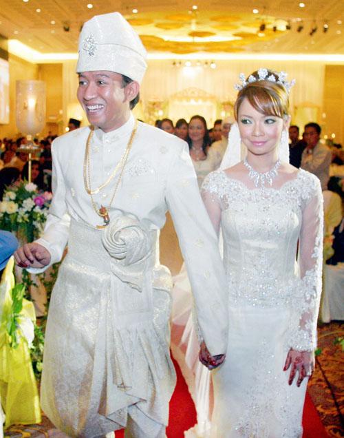 Nora danish dan jejai wedding hairstyles