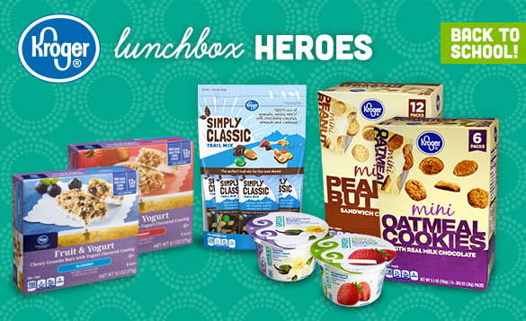 Back to School and Kroger's Lunchbox Heroes 2014 Review #Kroger via www.Productreviewmom.com