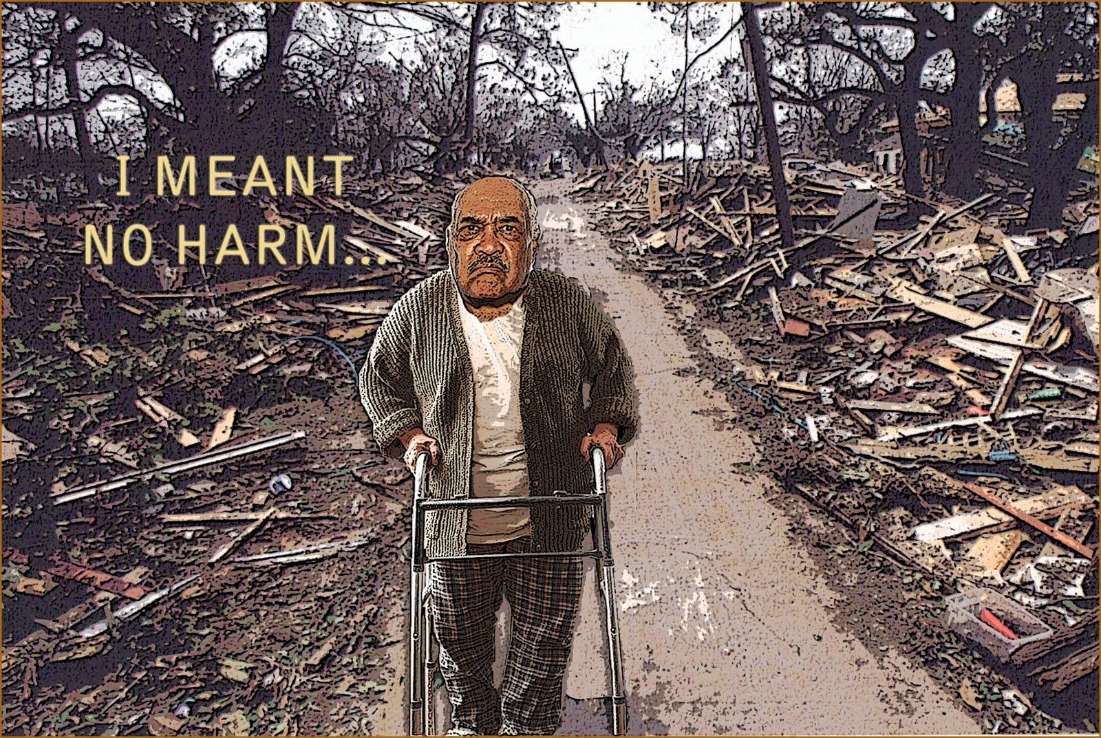 Blog: Leander Jackie Grogan: ManMade Disasters