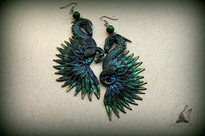 Dragons earrings/ Kolczyki Smoki