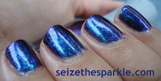 Duochrome Flaky Manicure