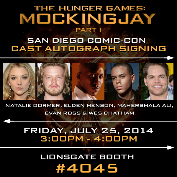 Mockingjay Part 1 Trailer Cast