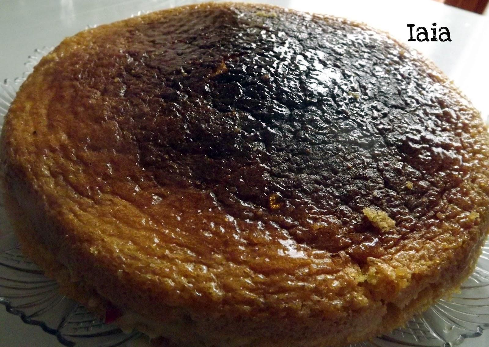 Pan di spagna senza glutine da iaia in cucina con semplicit su akkiapparicette - Glassa a specchio su pan di spagna ...