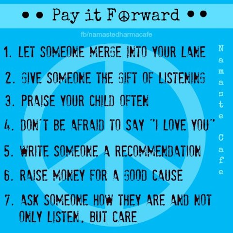 Inspirational Picture Quotes Pay It Forward Inspiration Pay It Forward Quotes