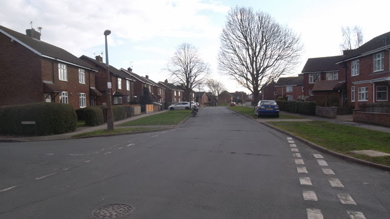 The Newlands housing estate in Brigg - picture on Nigel Fisher's Brigg Blog