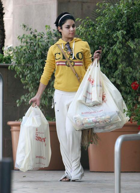 Vanessa Hudgens - Running Errands in Los Angeles