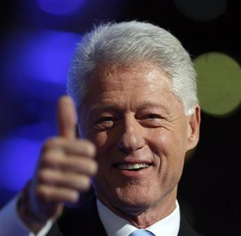 bill clinton drug use