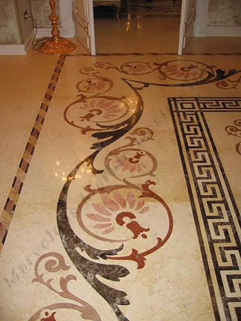 Foundation Dezin Decor Marble Flooring