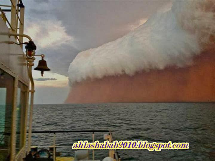 Dust Storm Hits Western Australia