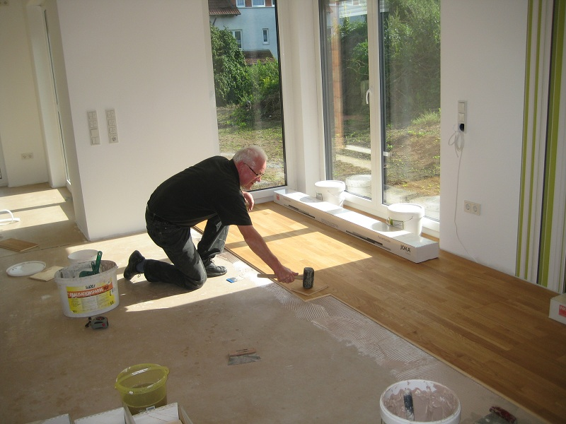 Fußboden Verlegen Verschnitt ~ Bautagebuch von nina und sascha fußboden