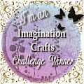I'm a Imagination Crafts Winner