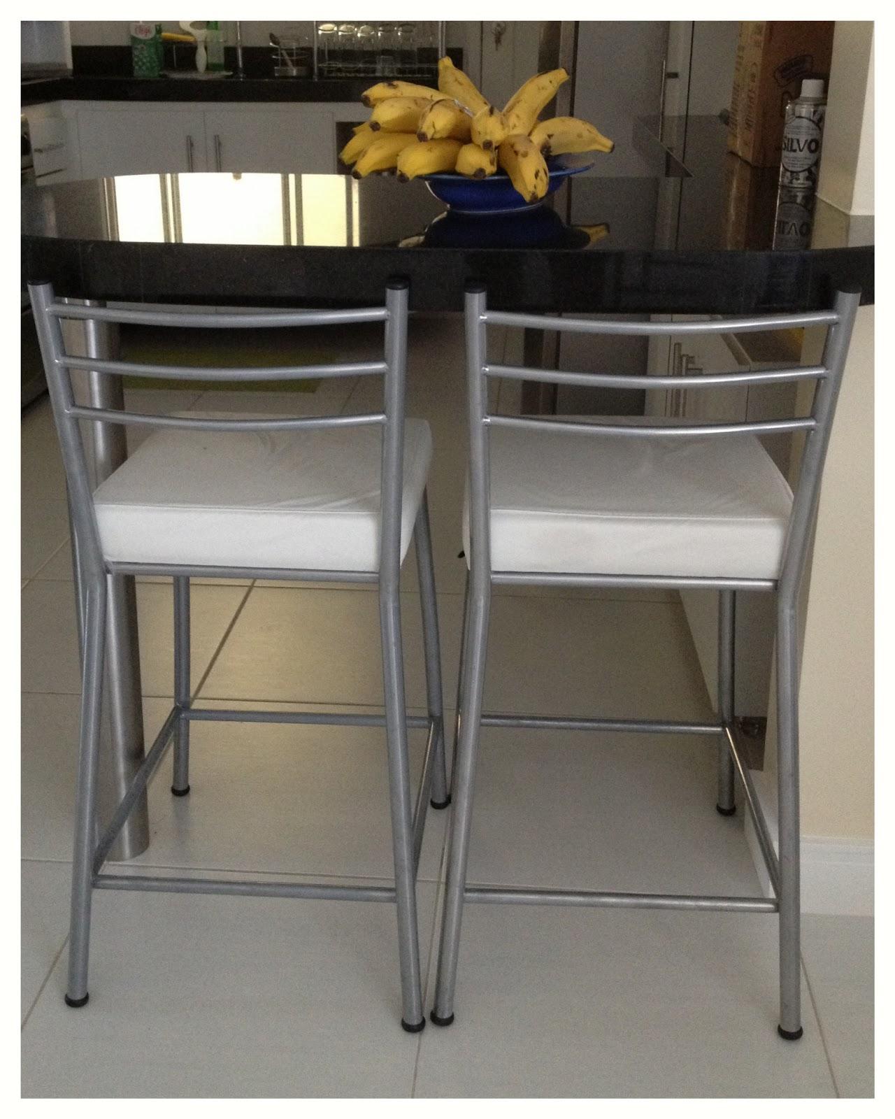 Reformando pra MoRar: Cadeiras banco para mesa balcão  #997932 1280x1600