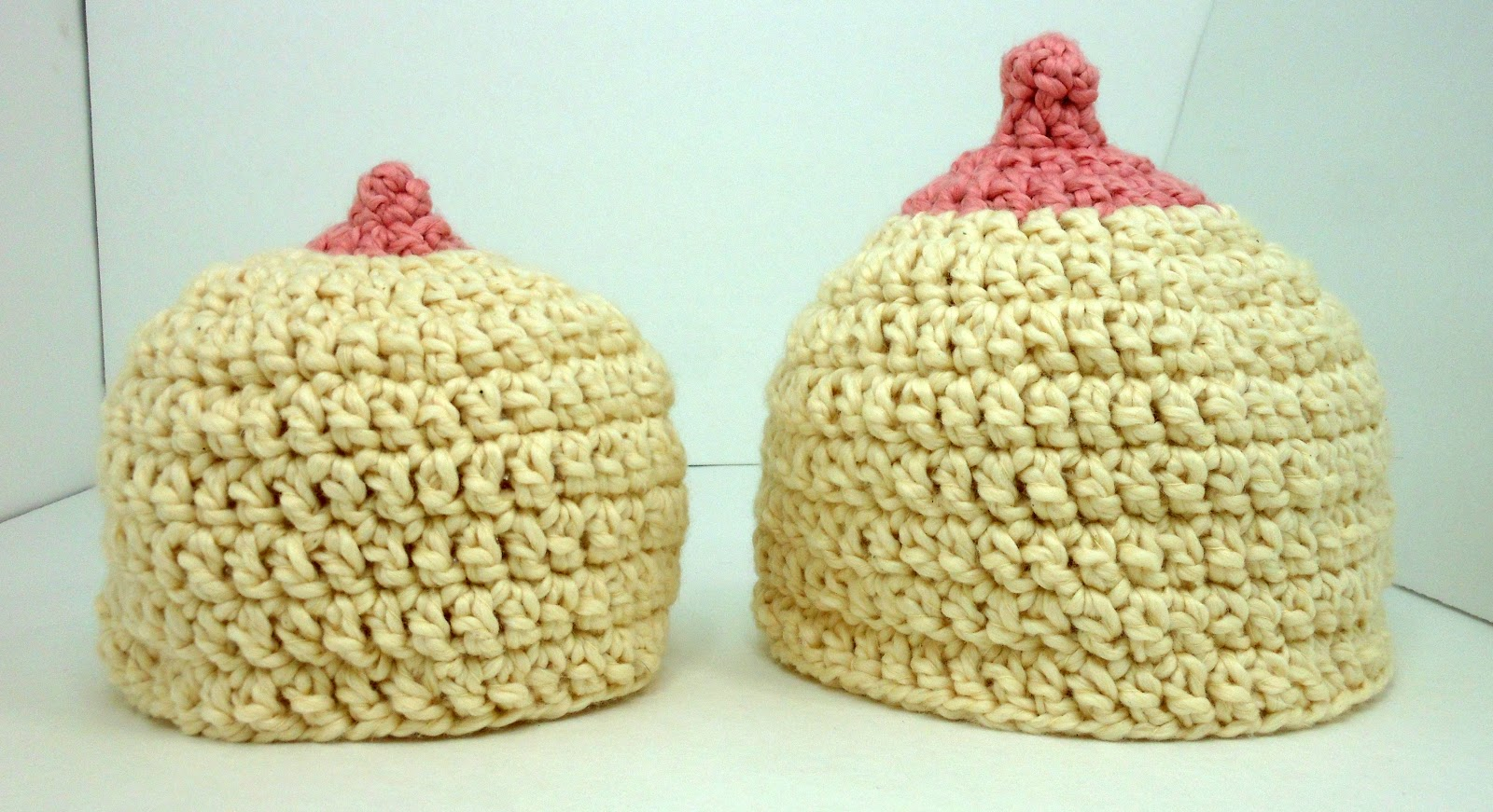 All Things Soft and Spinable: Altered Boob Hat Crochet Pattern