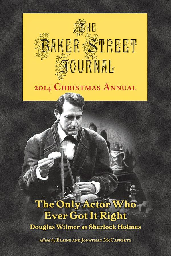 Douglas Wilmer, subject of the 2014 Baker Street Journal Christmas Annual