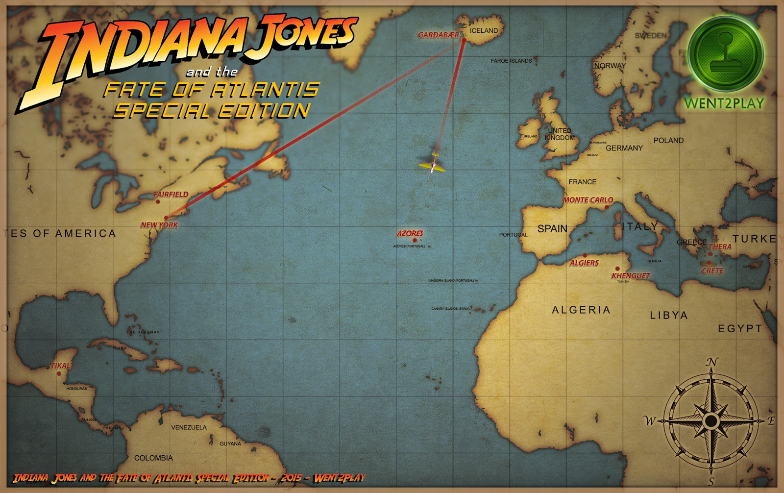 Indiana jones and the fate of atlantis special edition development screenshots on twitter httpstwitterfoase gumiabroncs Choice Image