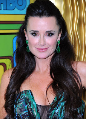 Kyle Richards Dangling Gemstone Earrings