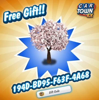 Car Town EX Free Gift Arbol