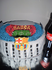 TARTA ESTADIO NOU CAMP.