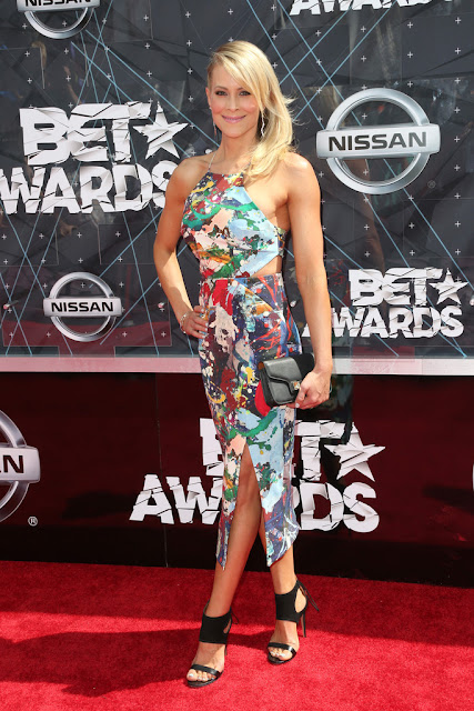 Actress @ Brittany Daniel - 2015 BET Awards in LA