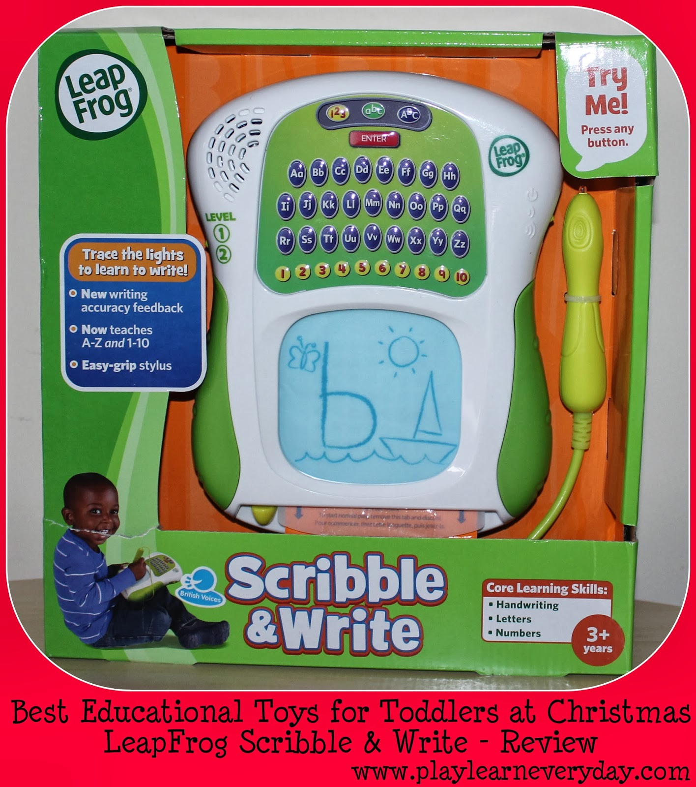 Christmas Gift List Best Educational Toys for Toddlers Play
