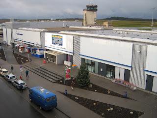Offisielt nettsted for flyplassen Frankfurt-Hahn
