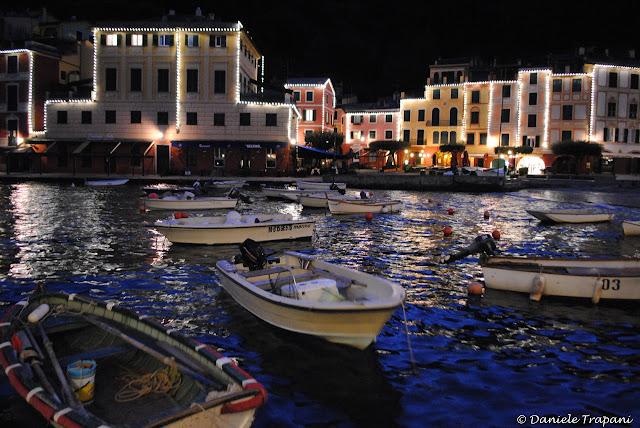 Una sera d'inverno a Portofino