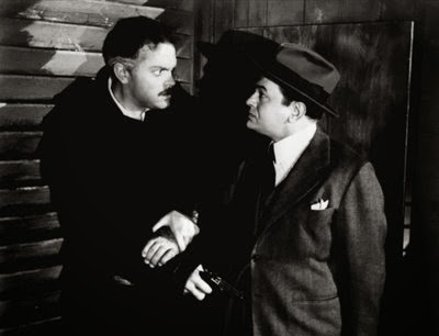 Orson Welles and Edward G. Robinson in The Stranger