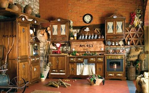 Decora y disena june 2011 - Cocinas estilo rustico ...