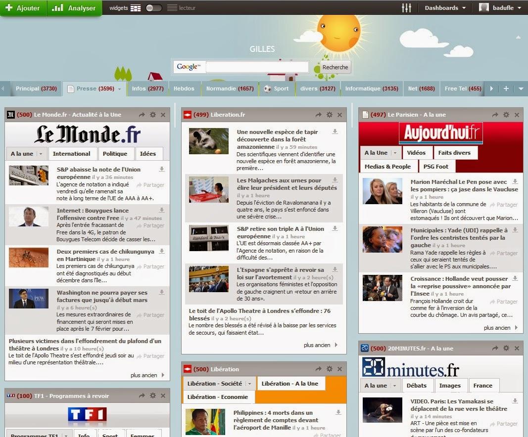 Outils web gratuits internet web mail - Bureau virtuel gratuit en ligne ...