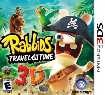 Rabbids Travel in Time 3D DS