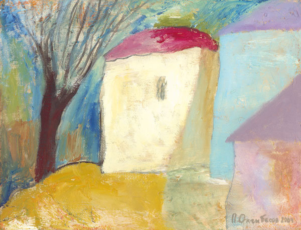 Paul Ozhgibesov [Павел Ожгибесов] 1973 | Russian painter