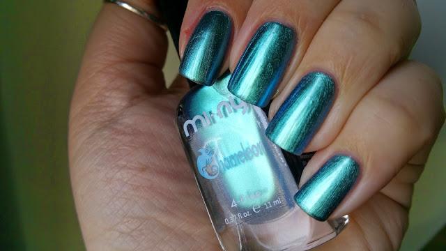 turquoise blue - Chameleon Mi-Ny 02