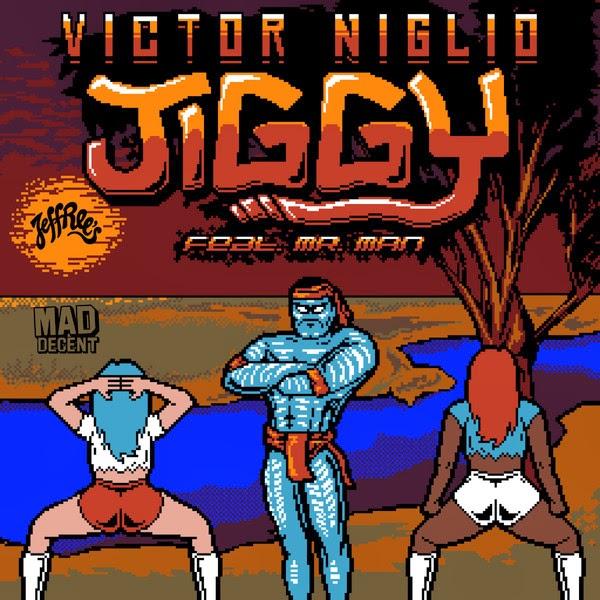 Victor Niglio - Jiggy (feat. Mr. Man) - Single Cover