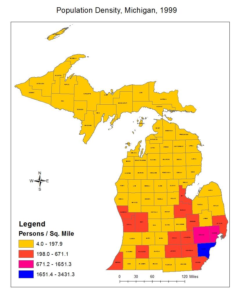 Human Geosciences Blog Population Density Maps