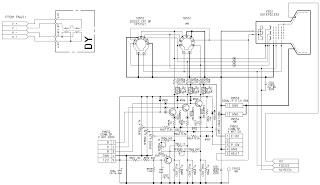 aiwa tv - a-219 - schematic diagram - using ics