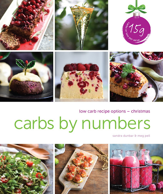 Carbs by numbers, Christmas, cookbook