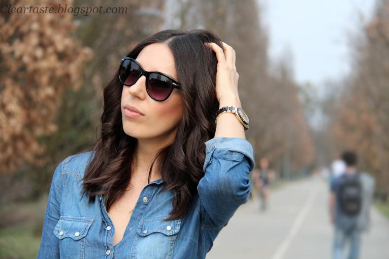 stradivarius jeans shirt