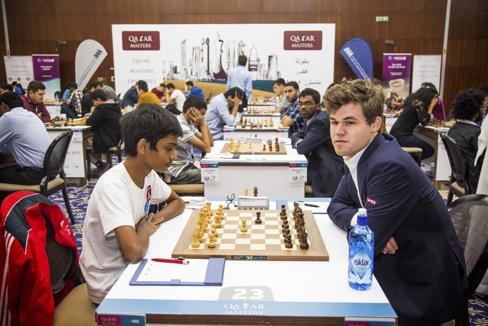 Les échecs ont leur roi, Magnus Carlsen - Photo © David Llada